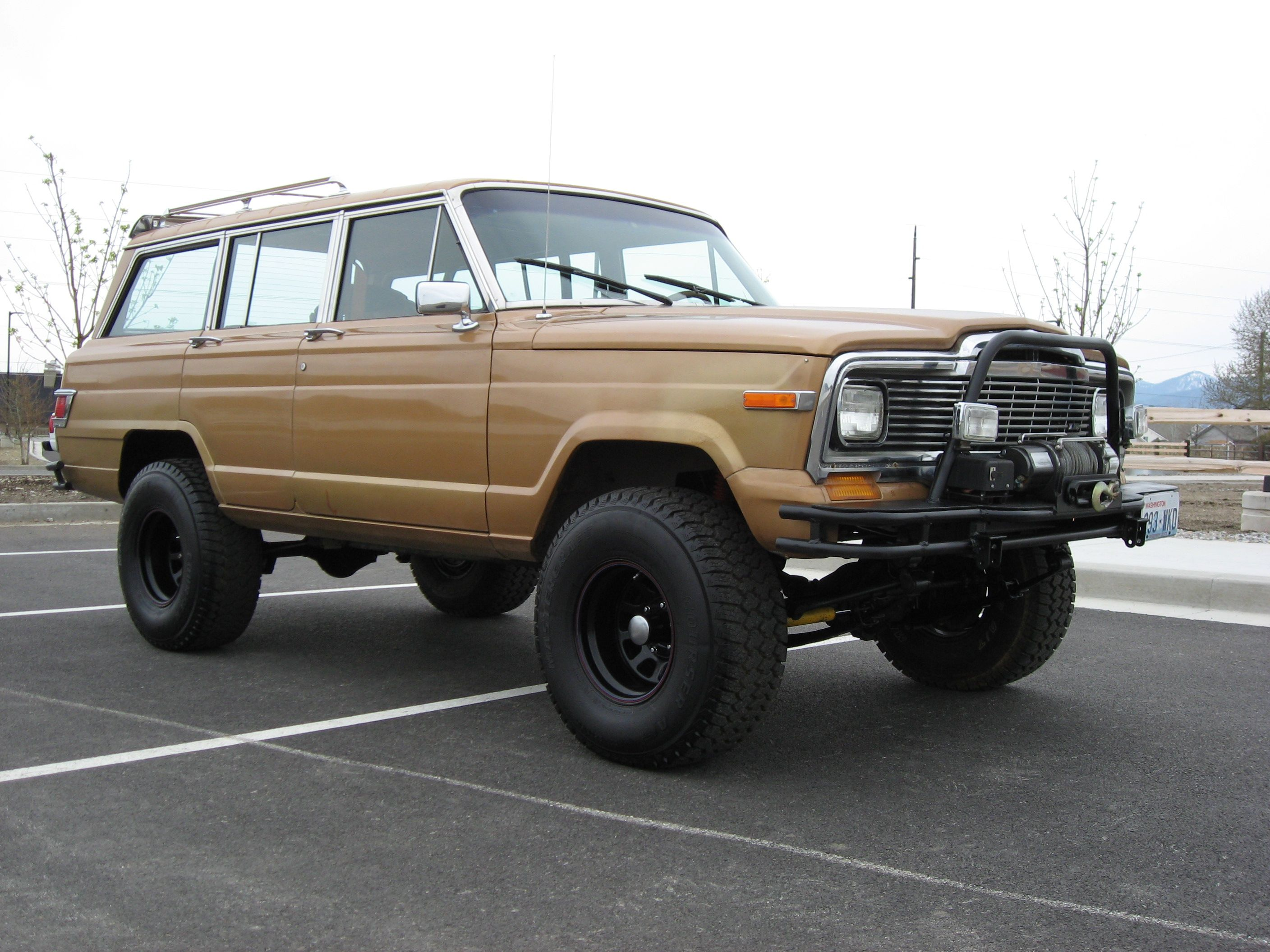 1984 Jeep Grand Wagoneer Build By Hotrodsonny Terreinwagens