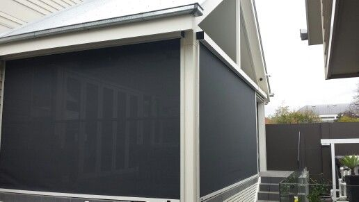 Motorised Zipscreen Intalled by The Blinds Spot Co Visit www