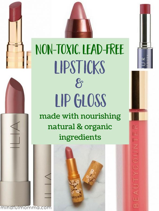 Top NonToxic Lipsticks & Lip Gloss Brands LipstickTips