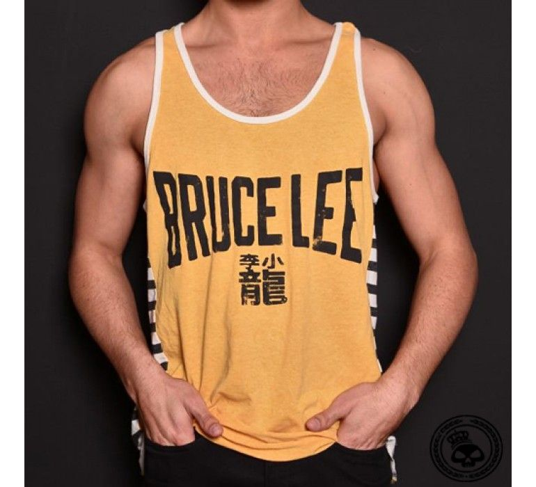 f840f8a4db7c2 Roots of Fight Bruce Lee Emblem Tanktop