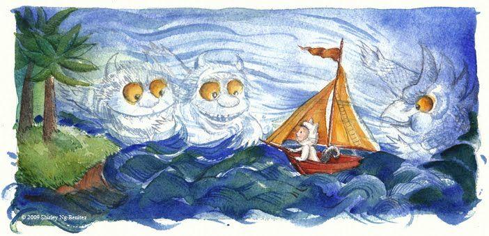 """Wild"" Water Color by Shirley Ng-Benitez at www.terribleyelloweyes.com"