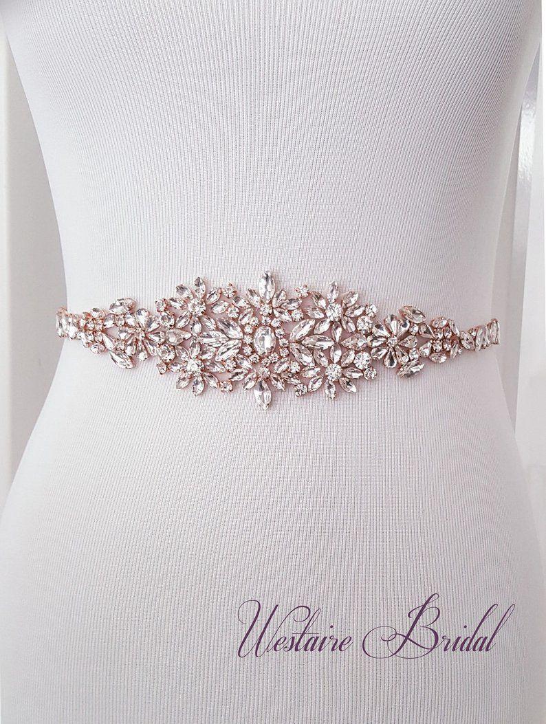 Wedding Belt Crystal Bridal Belt Bridal Sash Beaded Wedding Etsy Wedding Belts Bridal Belt Bridal Accessories Belt
