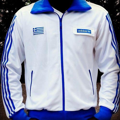 The Adidas Originals Greece 2004 Track Top by