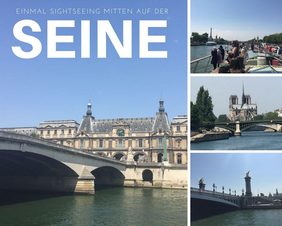 Die Pariser Sehenswürdigkeit vom Boot aus sehen. Einstieg ist am Eiffelturm, vorbei an der Pont des Arts, Notre Dame, und den Galerien und Museen.