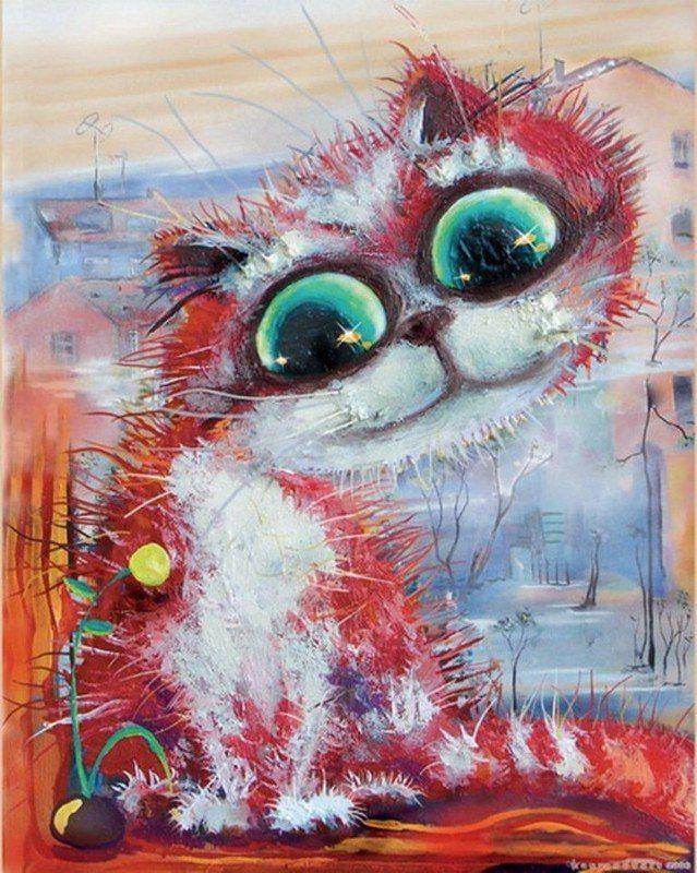 рисунок мир котов последствии