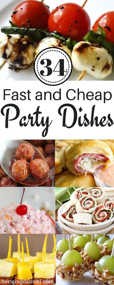 34 fast and easy party pleasers cheap recipes to impress fiestas 34 easy and cheap meals to impress at any party the rising damsel forumfinder Choice Image