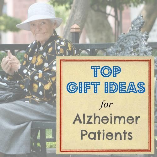 Top gift ideas for #Alzheimer patients created for family members and friends who want to give thoughtful and useful gifts to their loved one. #alzheimers