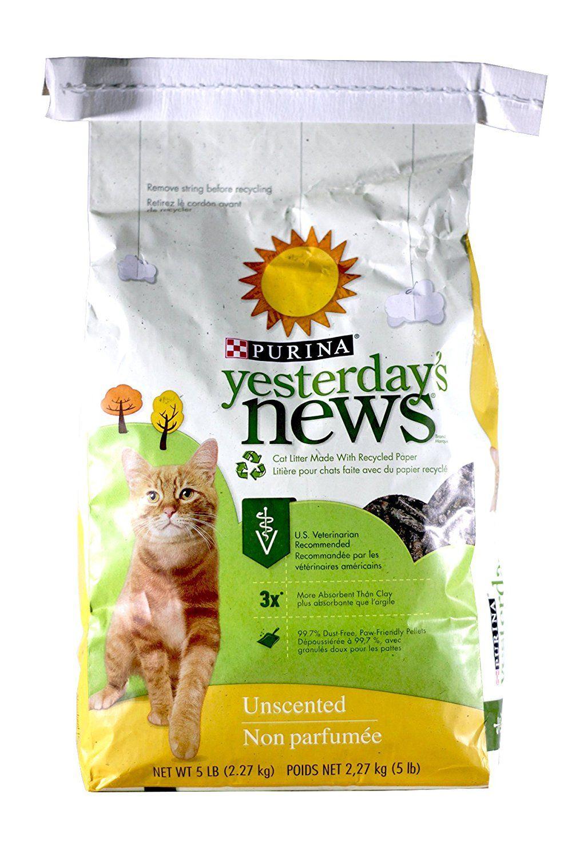 Yesterday's News Original Cat Litter Unscented 5 lb