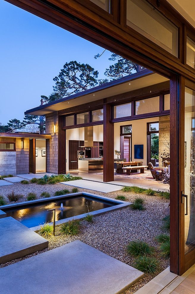 Thayer House - Modern spacious single family residence designed by on