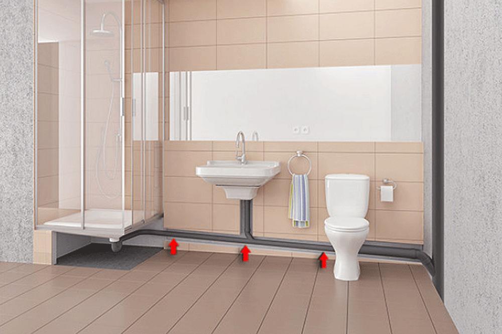 Bodengleiche Dusche Einbauen Anleitung In 2020 Dusche Einbauen Dusche Kleines Bad Umbau