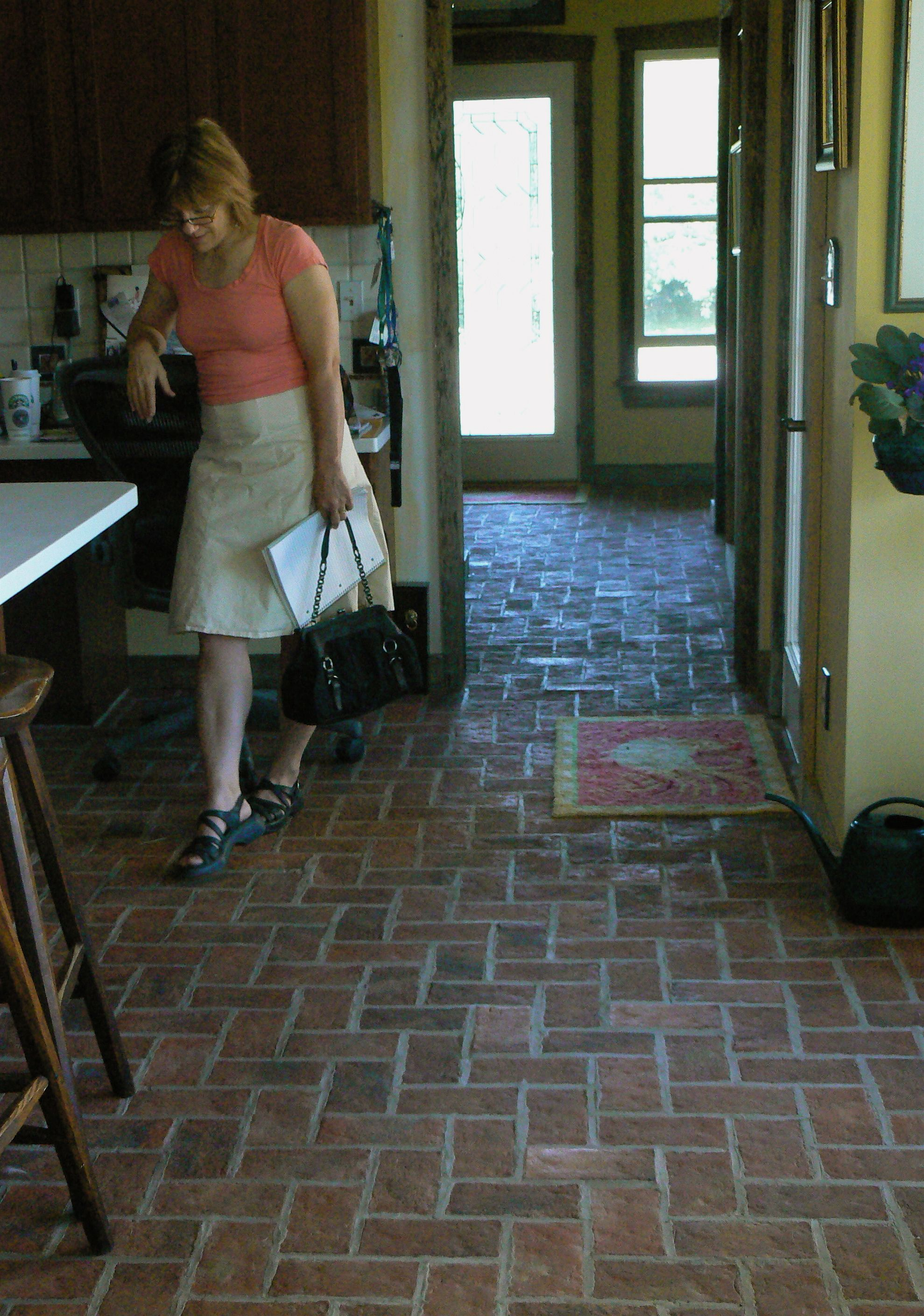 Google image result for httpinglenooktileleswordpress cabinet brick floor in kitchen kitchen brick flooring news from within measurements 1979 x 2816 kitchen floor tile that looks like brick this particular dailygadgetfo Gallery