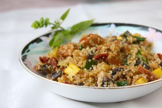 Gluten-Free Spanish Rice Quinoa | Gluten free sides dishes ...