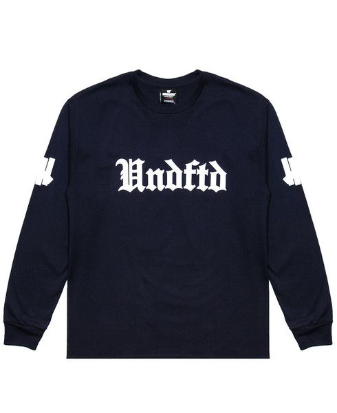 UNDEFEATED - SOCCER 15 L/S T-SHIRT (NAVY)