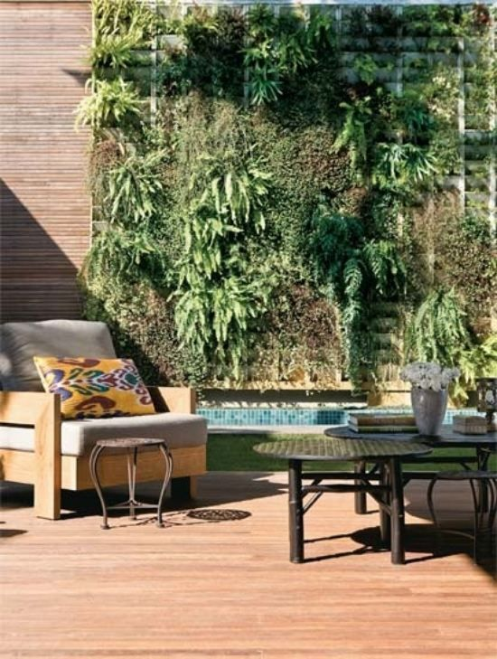 Patio Bereich Ideen Kleinen Garten Gestalten | Zaun | Pinterest ... Garten Mit Patio Gestalten