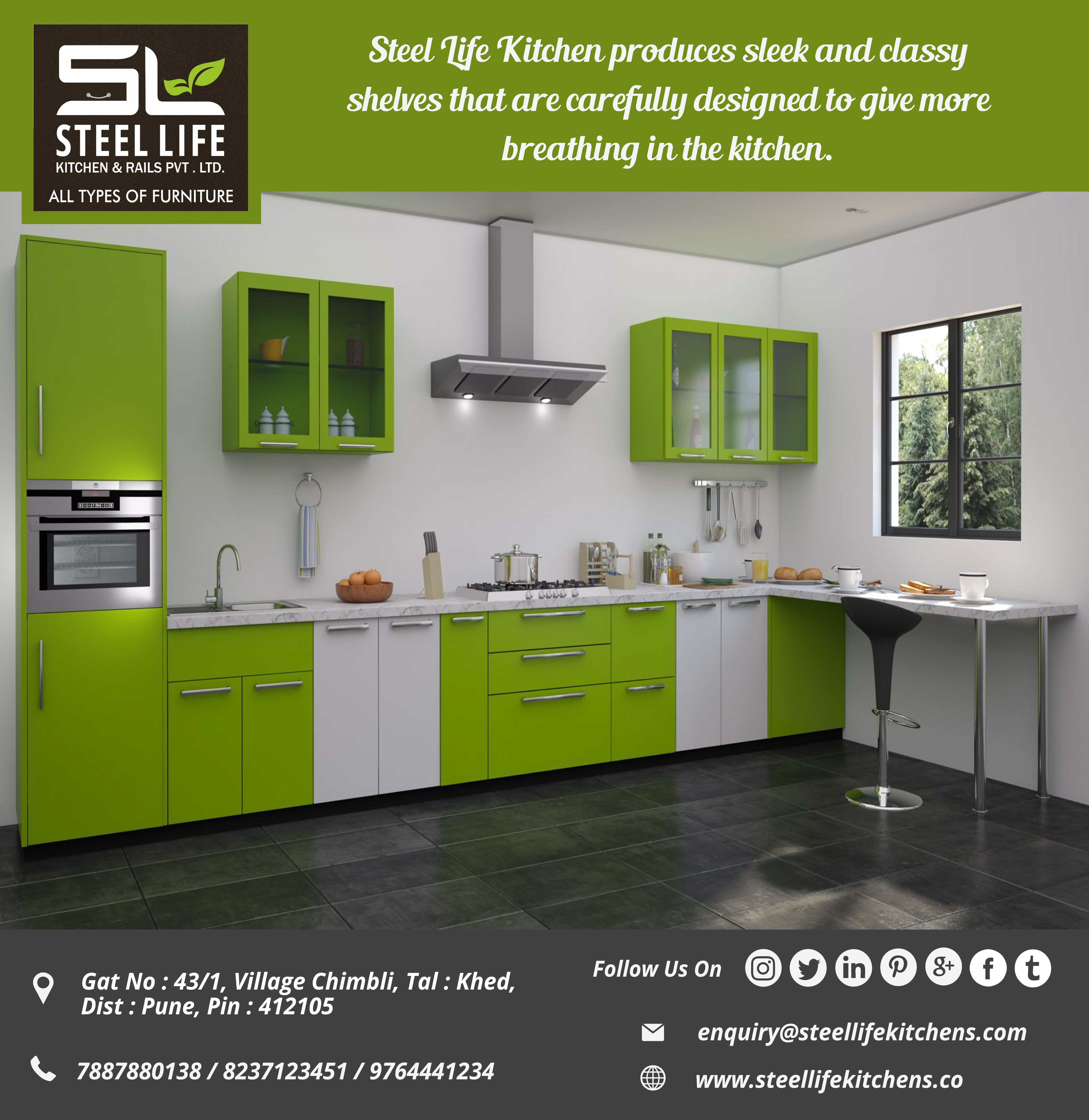 If You Are Looking For Classy Modular Kitchen We Guarantee To