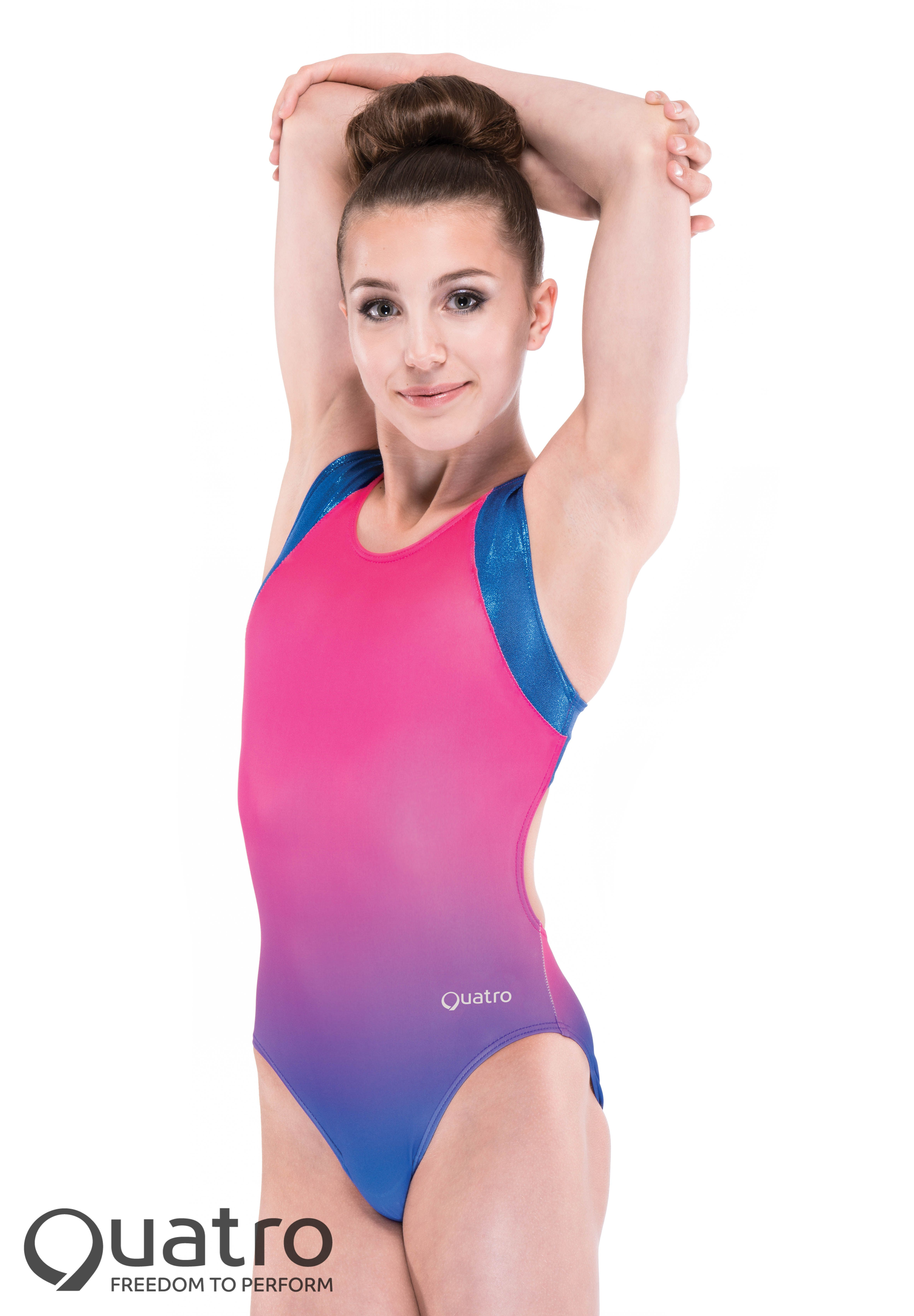 Ombre Racer Back Purple to Pink -
