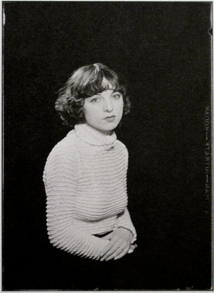 Émile Dubuffet by Man Ray
