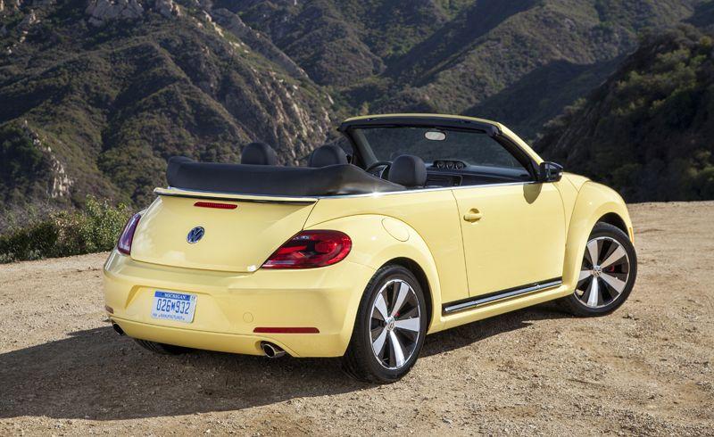 Yellow 2017 Volkswagen Beetle Convertible