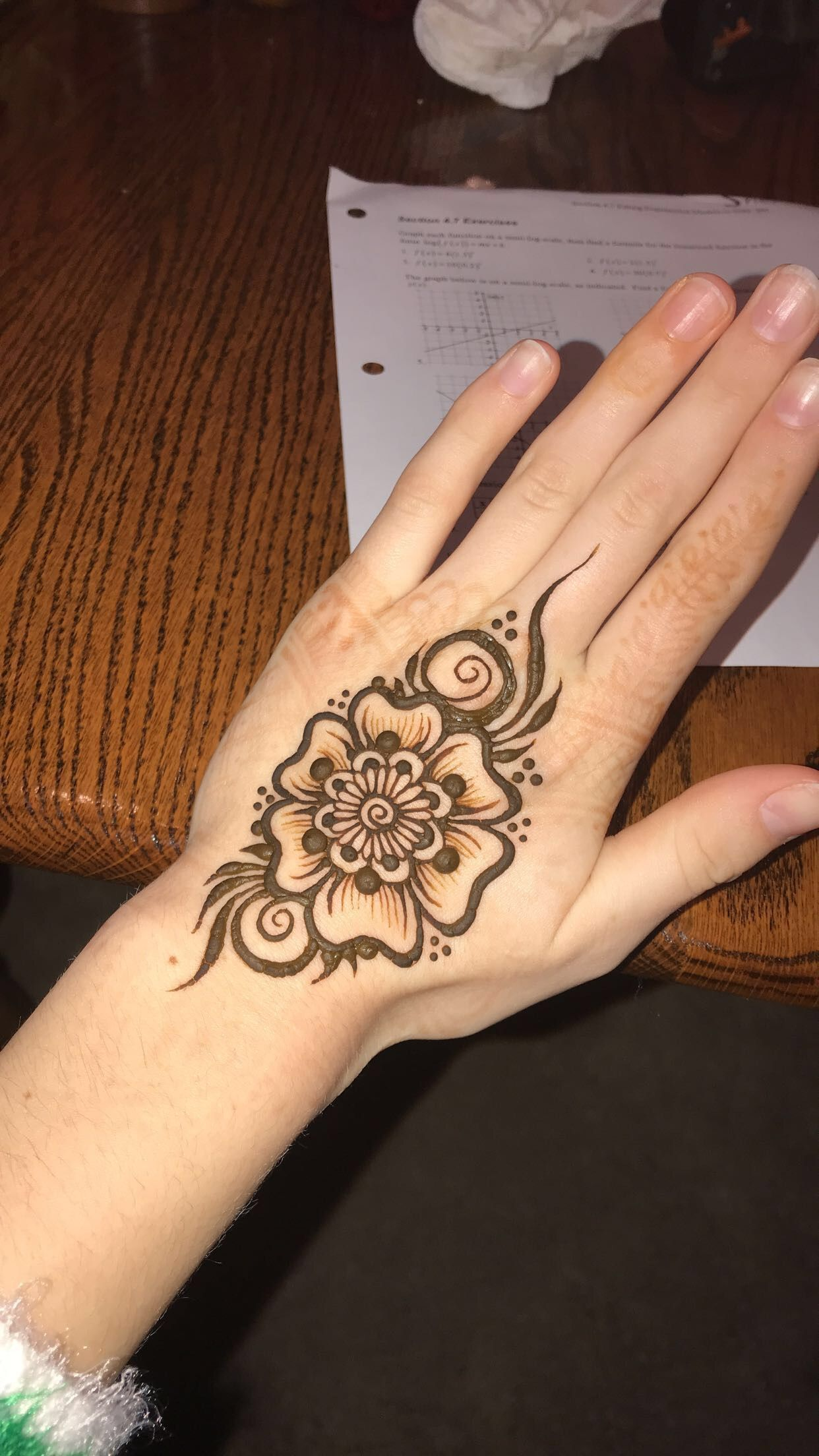 Wrist Henna Tattoo Pinterest Sheridanblasey: Flower Henna! Inspired By @mehndikajoeyhenna On Insta
