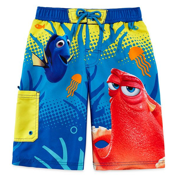 66d920d910 Disney Collection Dory Swim Trunks - Boys 2-10 - JCPenney | Finding ...
