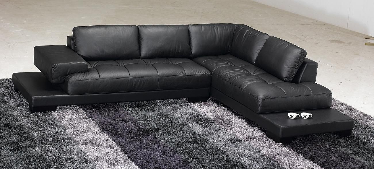 2019 Black Leather Sofas A Great Statement In Every Home Modern Sofa Sectional Modern Leather Sectional Sofas Black Modern Sofa