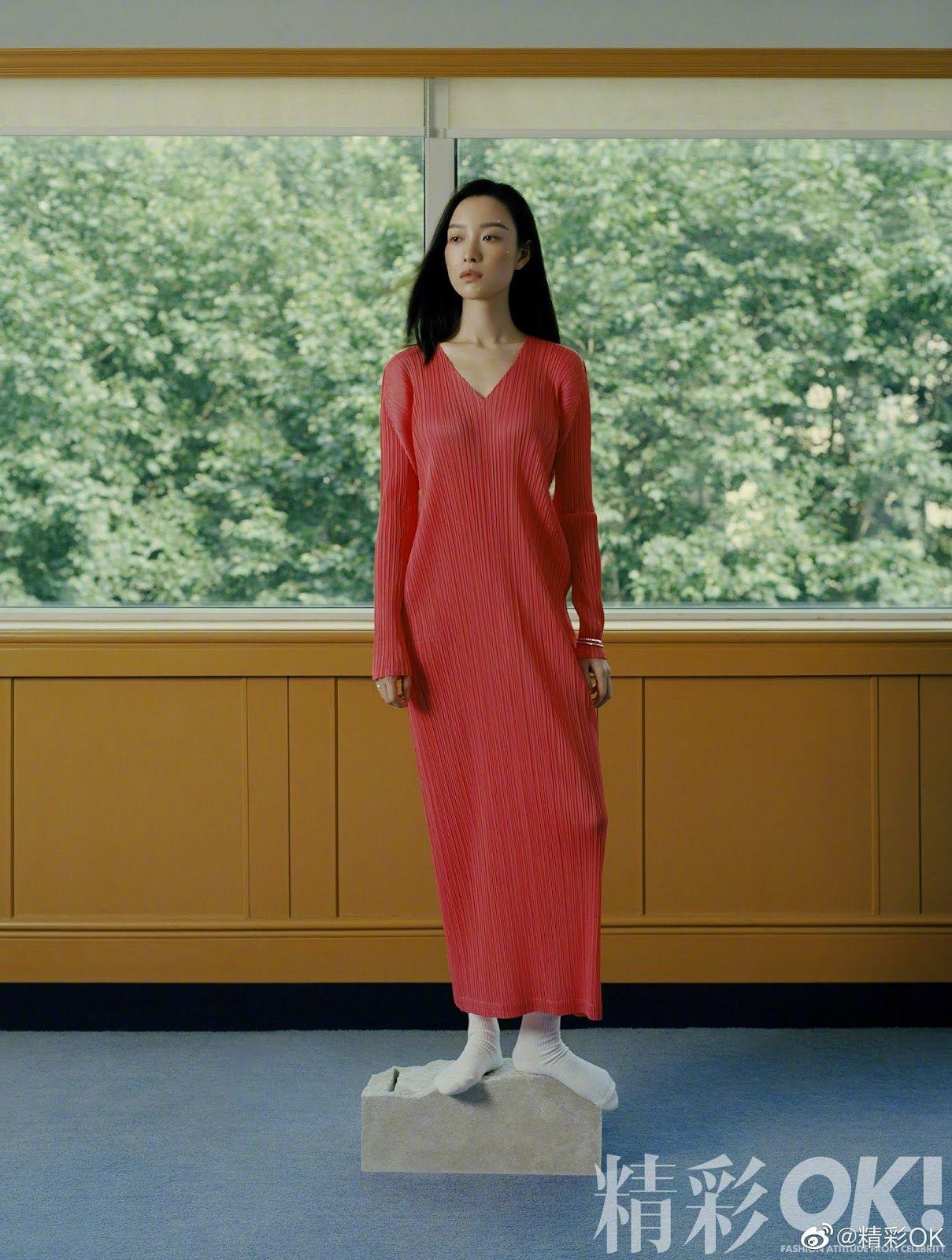Jiang Mengjie poses for photo shoot   China Entertainment