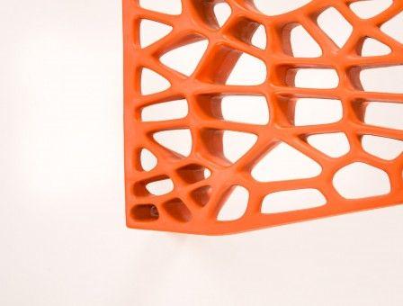 Coral oranje detail 2
