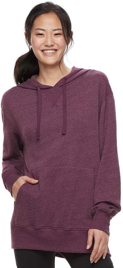 ee10d1cd40 Fleece Baby So Juniors  SO Oversized Pullover Tunic Hoodie ...