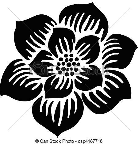 Dessin de fleur simple reproduire - Fleur simple dessin ...
