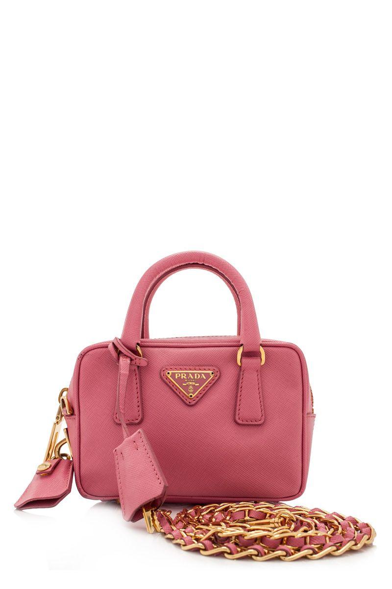 b304ff71d2 PRADA - Pre-Owned Prada Saffiano Lux Mini Bag | Reebonz | WEAR ...