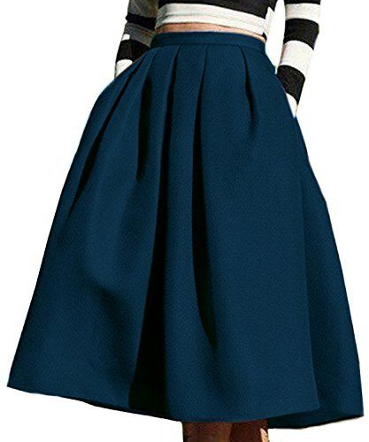 Step By Step Tutorial On How To Make A Circle Skirt With Two Seams An Elastic Waist And Pockets Womens Skirt Midi Skater Skirt Full Midi Skirt