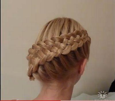 Trenza de 6 cabos !!!! Es increíble !!!!   Peinados 2013-2014   Súper elegantes