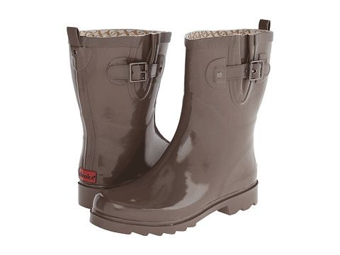 Chooka Posh Solid Mid Women's Rain Boots