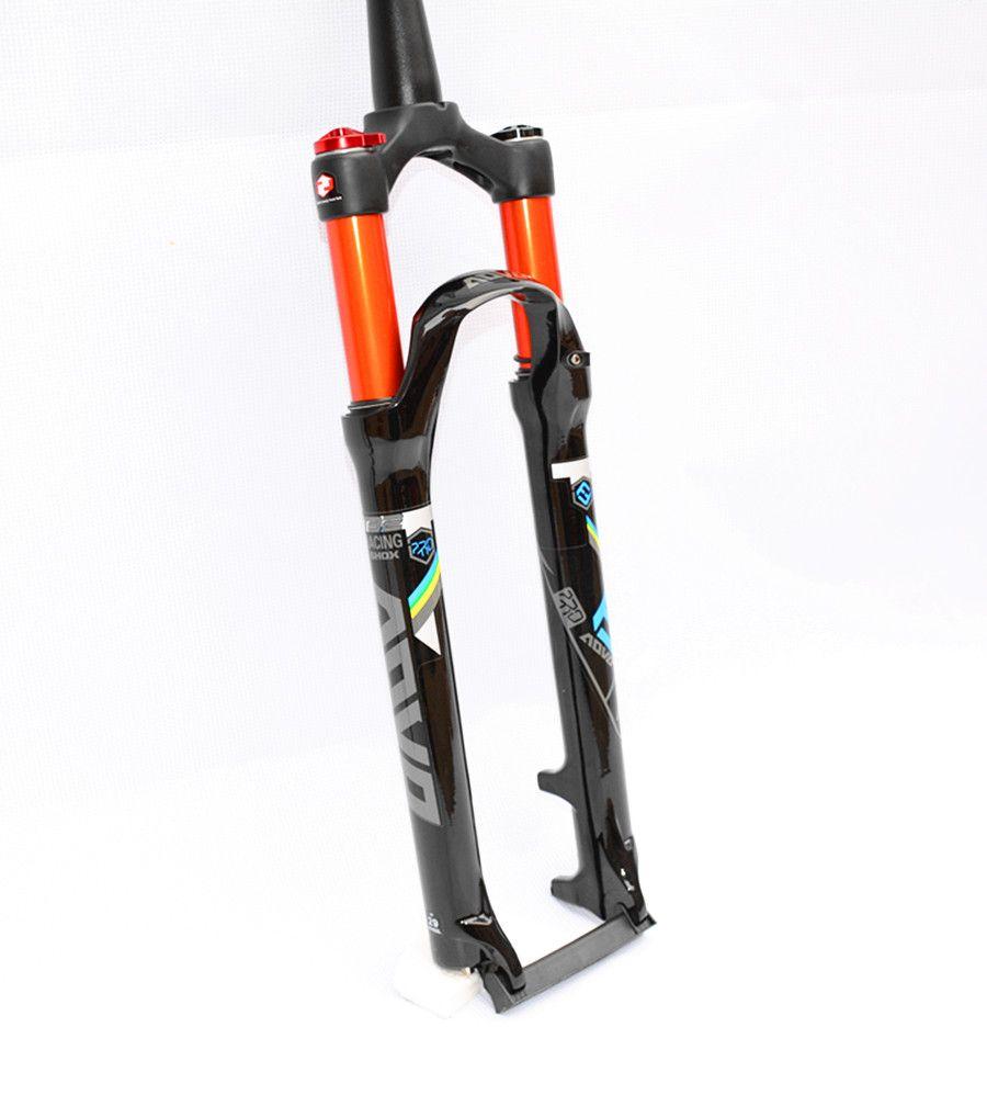 Mtb Bicicleta Garfos De Choque Amortecimento Ar Strap Silicone Elastic Lampu Sepeda Holder Alta Qualidade Em Liga