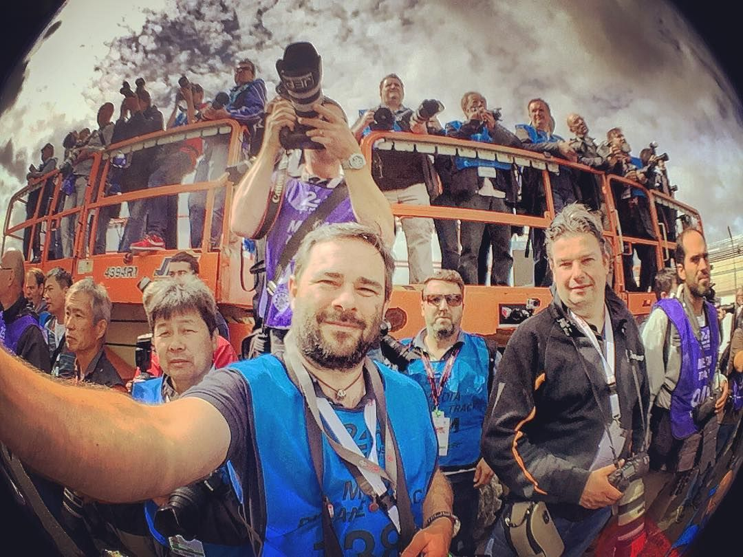 The Le Mans 2016 Photographers Collective!  #travelshooteditrepeat #lm24 #lemans #24hr #wearemotorsport #lifeasaphotographer #photographer #fujifilm #fuji #smugmug #peakdesign #lensdistortions #link #adrenalmedia