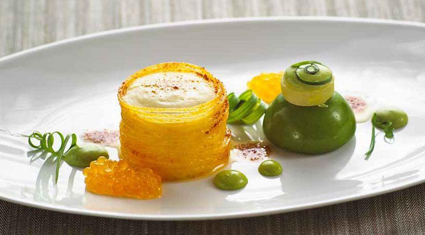 Kartoffelschaum haute cuisine pinterest vorspeise for Kochen passieren