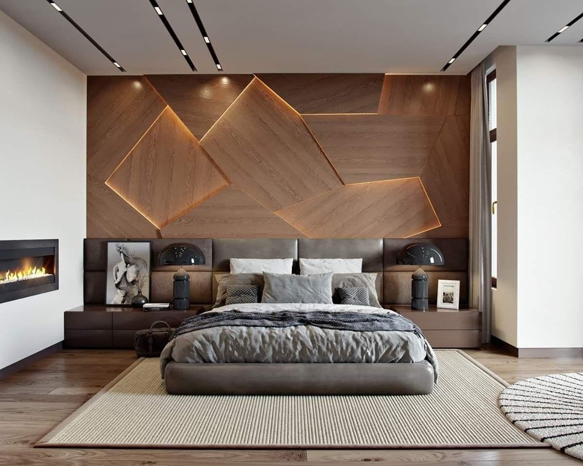 Pin On Projeto De Quarto De Luxo Modern bedroom maskulin design