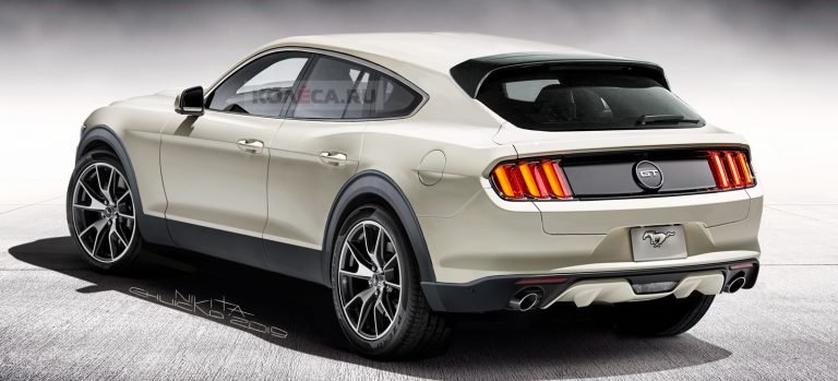 Ford Mach E What If The Mustang Inspired Electric Suv Looked Like This Carscoops Ford Mustang Suv Ford Suv Ford Mustang