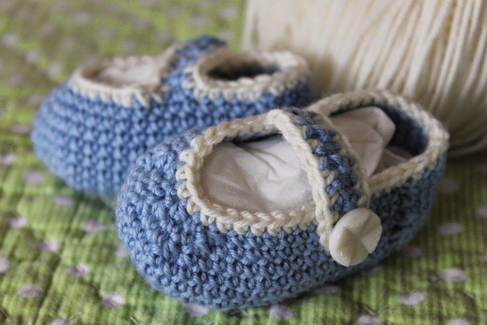 Puppenliesl: Schuhe häkeln nach Anleitung   Puppenkleidung ...