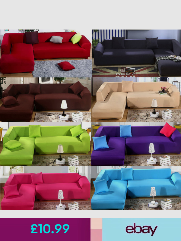 Uk Universal Stretch Elastic Fabric Sofa Cover Sectional Corner Couch Covers Hc Fabric Sofa Cover Sectional Couch Cover Slip Covers Couch