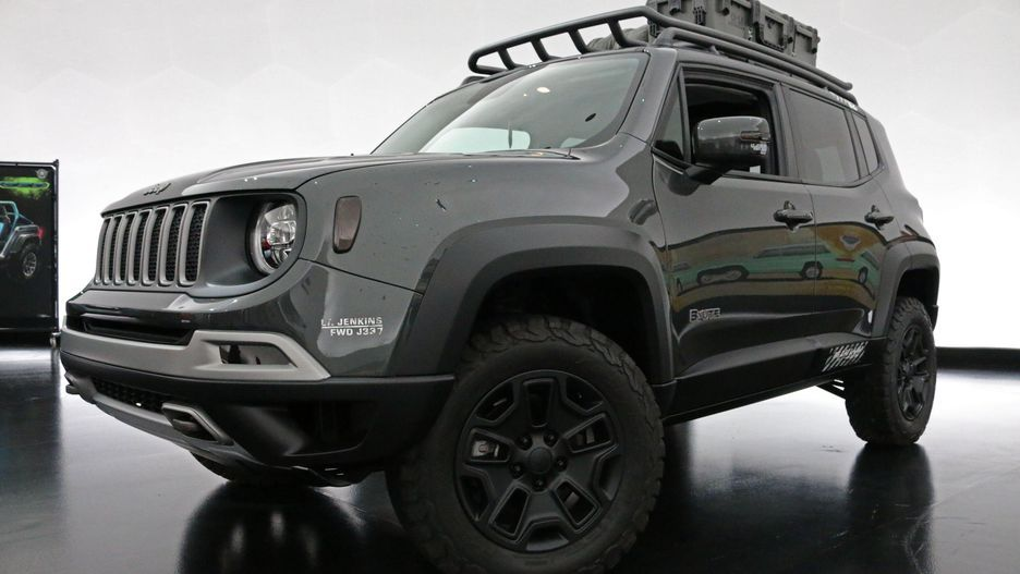 Jeep B Ute Concept Is A Tougher Renegade Jeep Concept Jeep