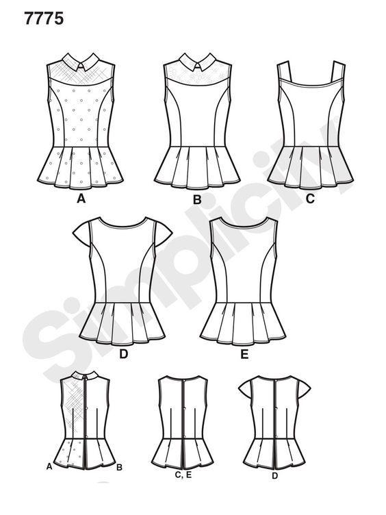 Pin de Heer en MOLDES | Pinterest | Consejos para coser, Molde y ...