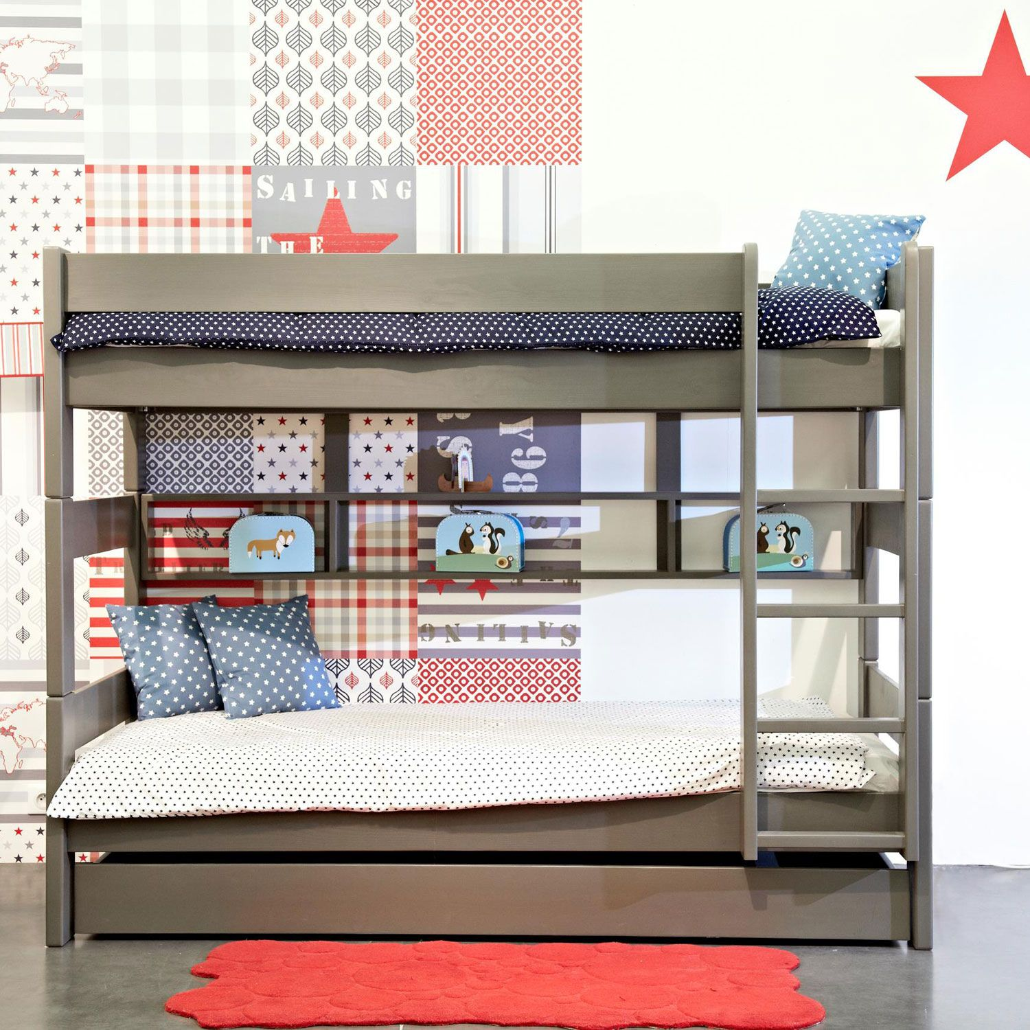 Mathy by Bols Dominique Bunk Bed Height 166 cm Bunk