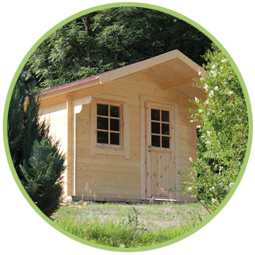 Was für eine tolle Idee: Campingpatz-Dransfeld-Schlafhuetten-3 der neue Zeltersatz!