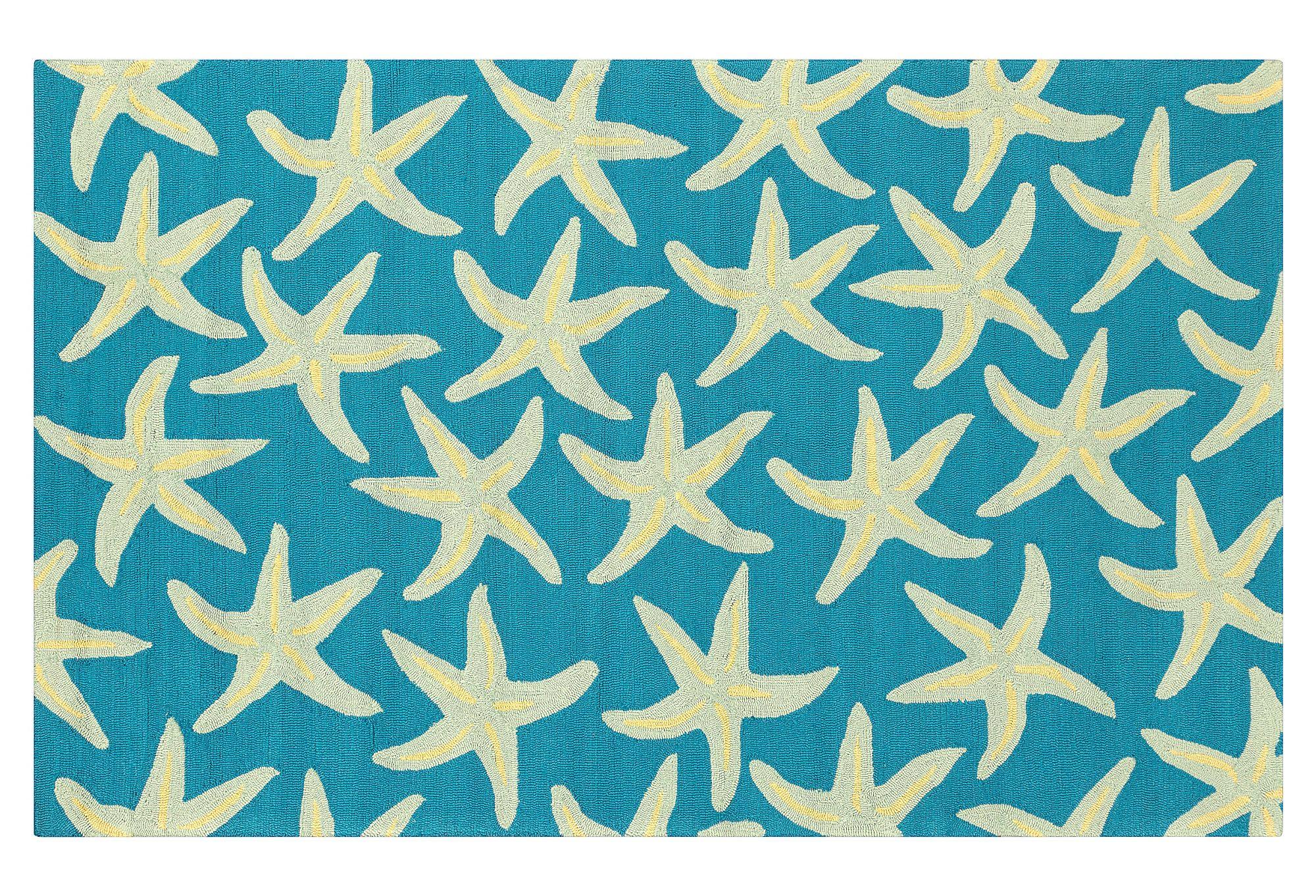 One Kings Lane Durable Designs Starfish Outdoor Rug