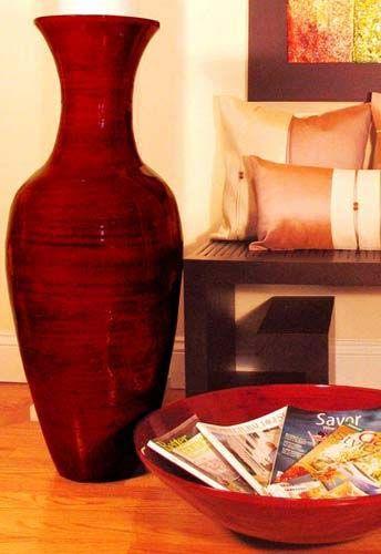Bamboo Floor Vase Large Vases