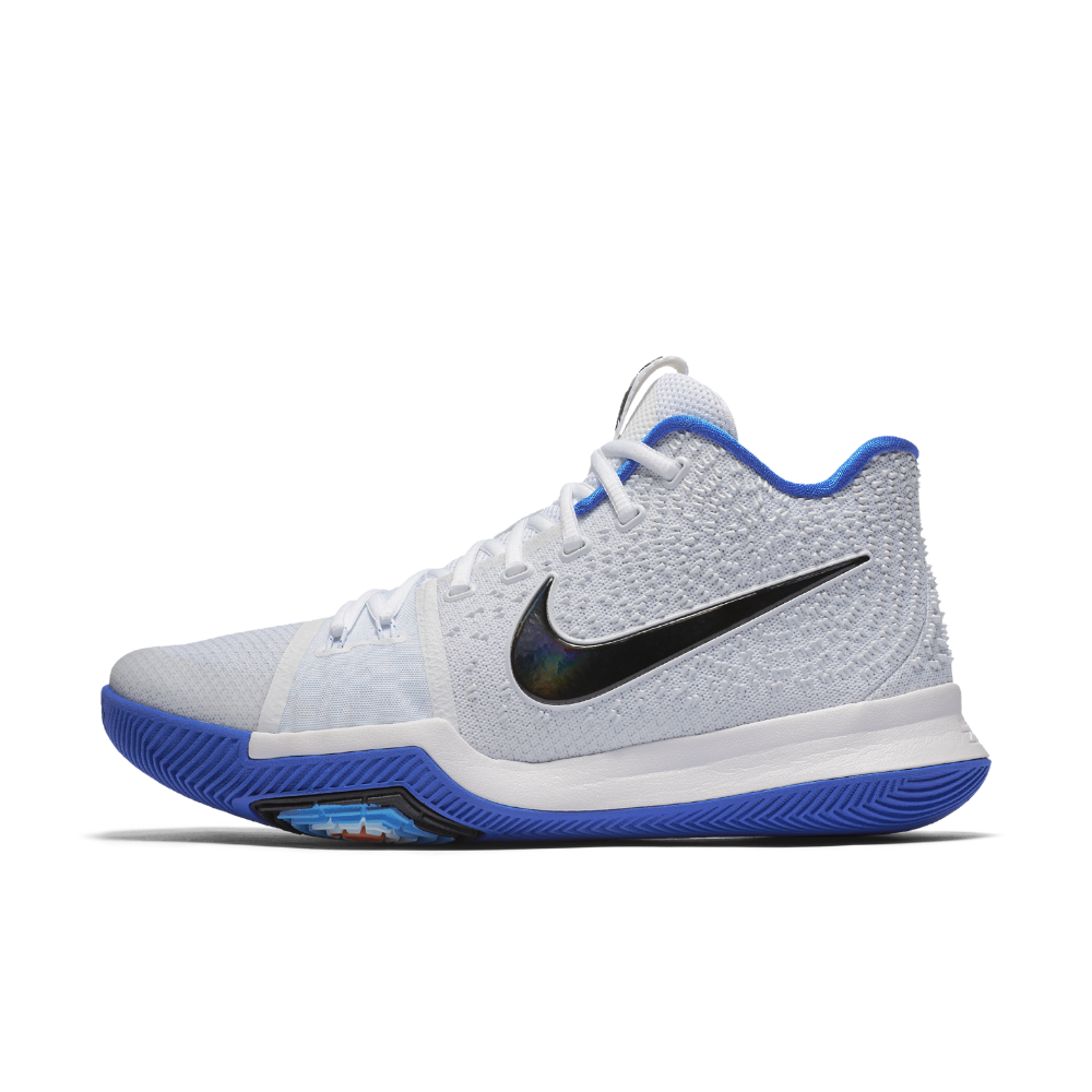 premium selection 06b22 dfe5c Nike Kyrie 3 Men s Basketball Shoe Size 10.5 (White) - Clearance Sale Nike  Kyrie