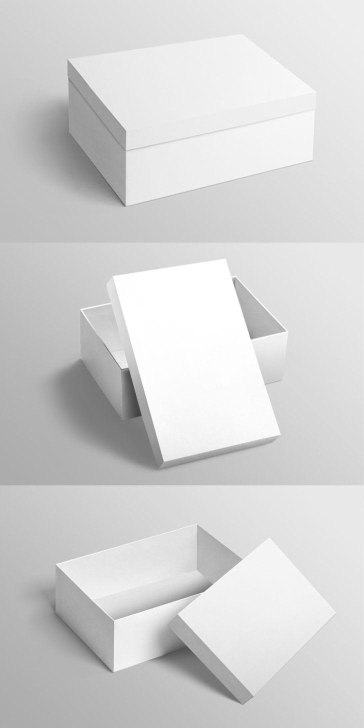 Download Free Footwear Package Box Mockups Set Free Package Mockups In 2020 Box Mockup Design Mockup Free Postcard Mockup
