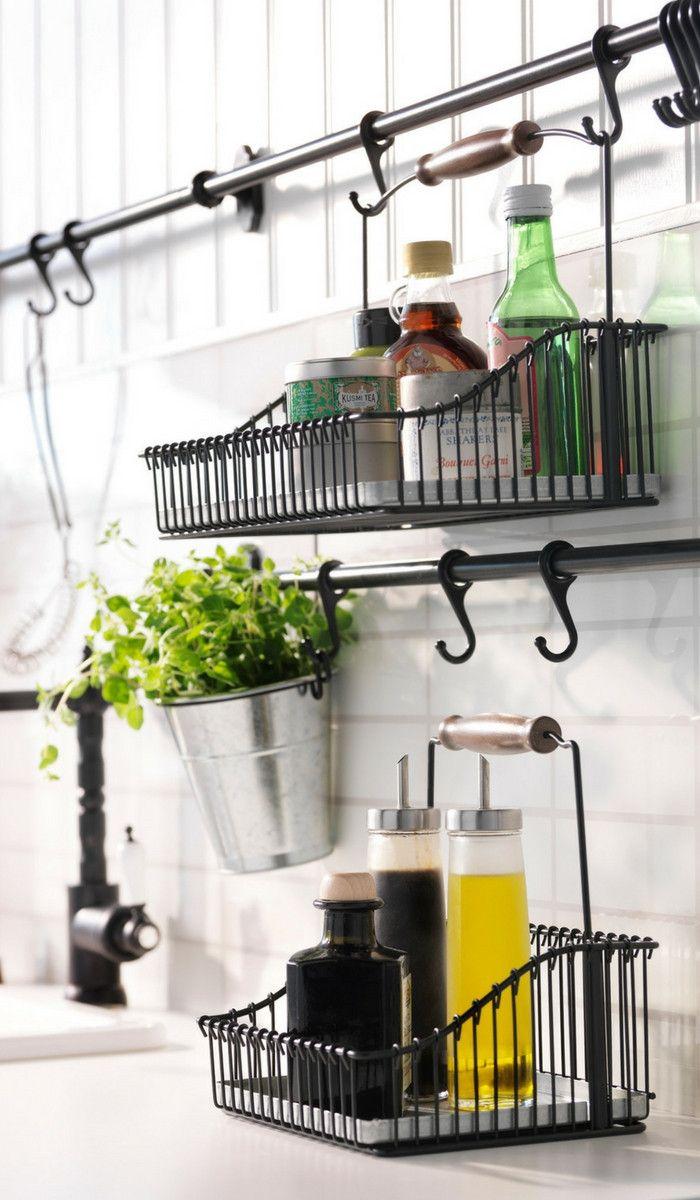 J Aime Cette Photo Sur Deco Fr Et Vous Rangement Cuisine Meuble Cuisine Rangement Cuisine Ikea