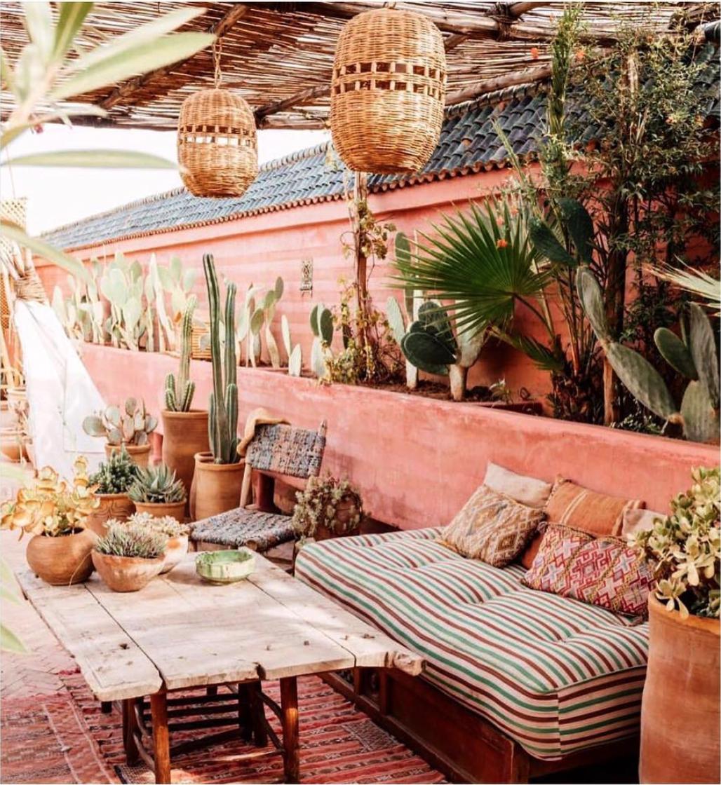Gorgeous And Dreamy Marrakech Riads Wondrous Paths Marrakech Wellness Design Outdoor Living
